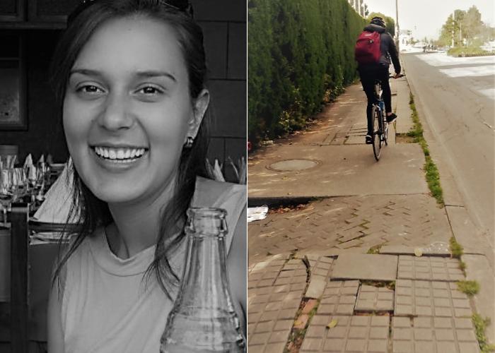 Trágico accidente cobra la vida de ciclista en la carrera 19 al norte de Bogotá