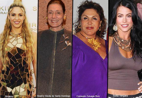 Diez mujeres colombianas millonarias y poderosas