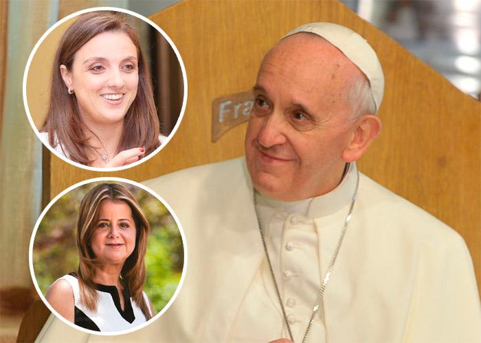 Las barranquilleras que lograron convencer al papa