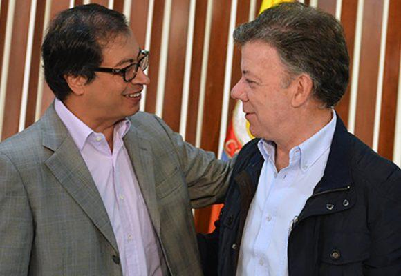 Vísperas amargas de Santos y Petro
