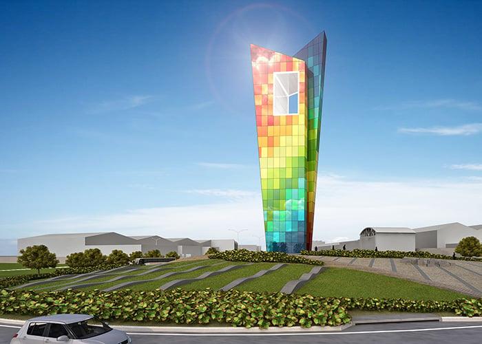 Una ventana al mundo, el nuevo símbolo de Barranquilla