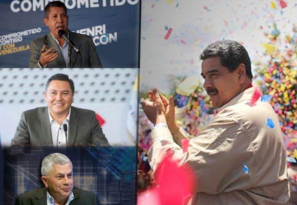 Un pastor, Javier Bertucci, y un exgobernador chavista, Henry Falcón, buscan atajar a Maduro