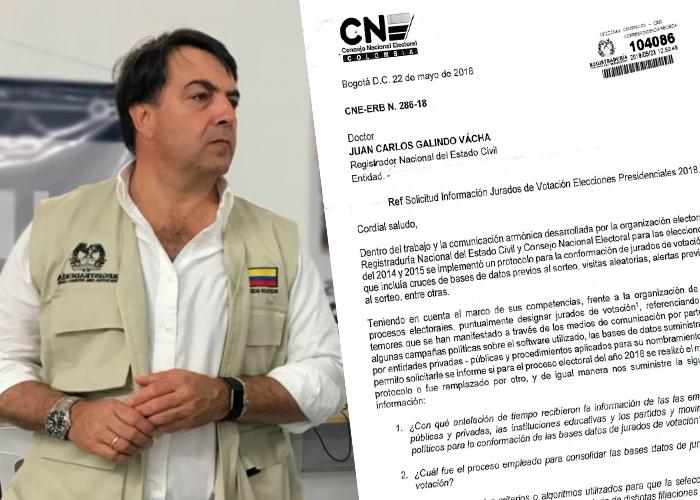 Todos contra Galindo: el CNE también plantea interrogantes frente a las elecciones