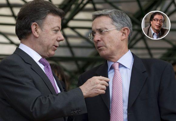 La pelea de Uribe con Santos y la apoteosis petrista
