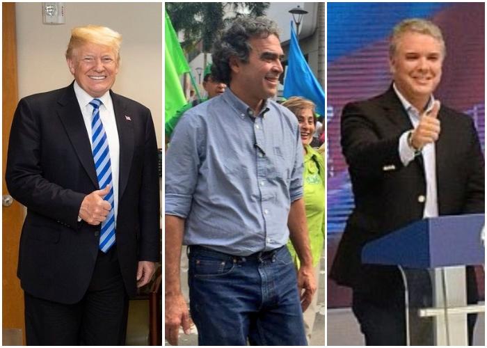 El voto secreto: Trump, Fajardo y Duque