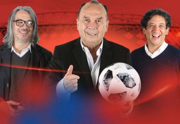 El trío Hernán Peláez, Casale, De Francisco: el otro fracaso del mundial