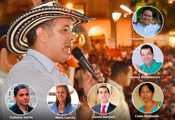 El combo de políticos de Córdoba y La Guajira con cuenta de cobro para Duque