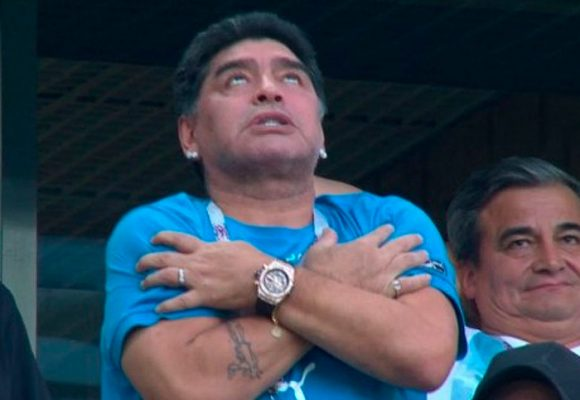 Maradona vs la Cocaína: una pelea perdida