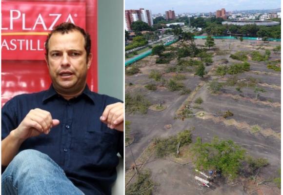 Con motosierra en mano, los chilenos arrancan centro comercial en Cali