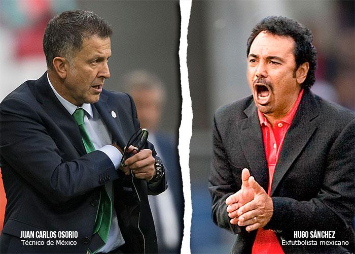 Hugo Sánchez, el peor enemigo de Juan Carlos Osorio, se traga sus palabras