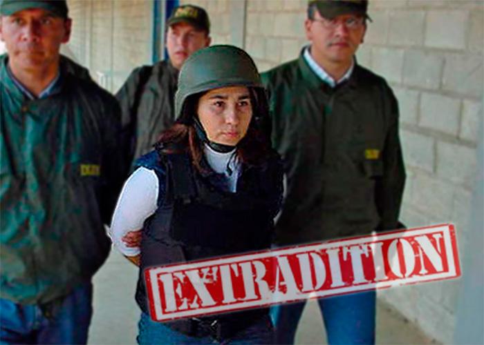 Sonia, la única extraditada de las Farc por coca