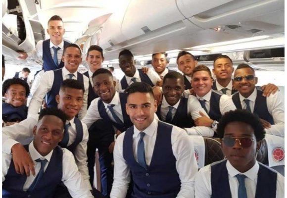 El lujoso avión en el que llegó la Selección Colombia a Rusia