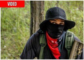 VIDEO: El comandante del ELN que quiere vigilar las elecciones en el Chocó