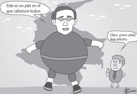 Caricatura: el país de todos