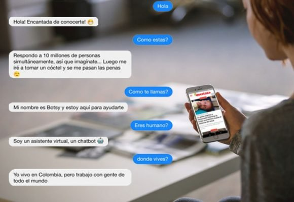 Botsy, el chatbot que personaliza la difusión de contenidos