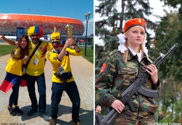 Guía para colombianos confundidos en Rusia