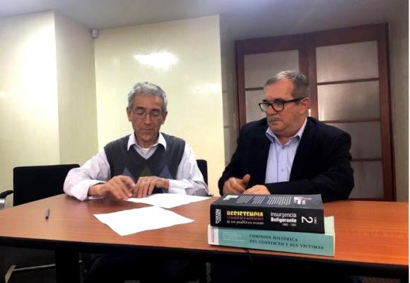 Reunión del antiguo Secretariado de las Farc: dan la cara ante la Comisión de la Verdad