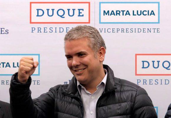 Iván Duque es el nuevo Presidente de Colombia con el 54 % de los votos