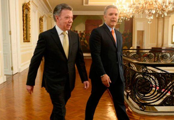 VIDEO: En día decisivo para la paz de Santos, los presidentes se encuentran