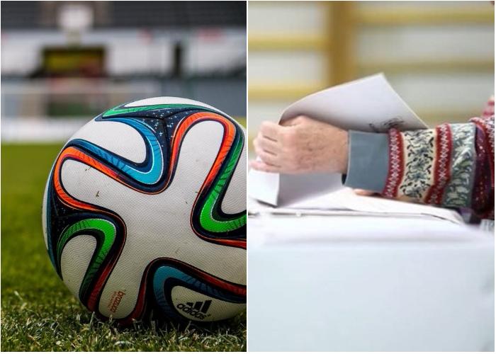 ¿Fútbol o elecciones?