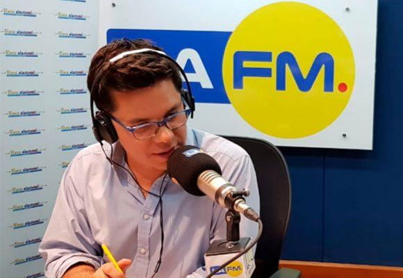 El repunte de La FM con Luis Carlos Vélez a la cabeza
