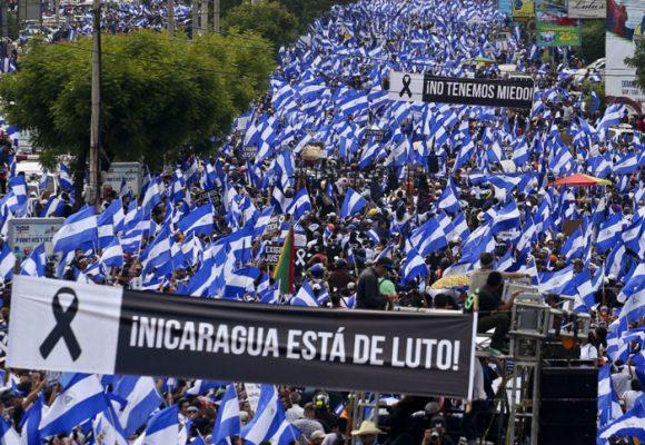 Disparar a matar en Nicaragua