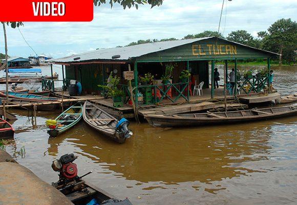 S.O.S. de los pescadores de Leticia: el Amazonas empieza a secarse