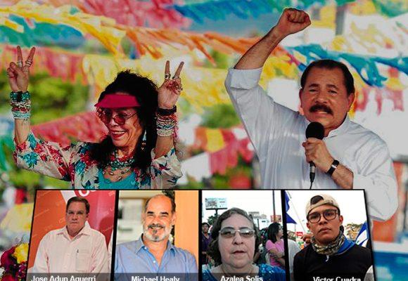 Las caras de la oposición en Nicaragua