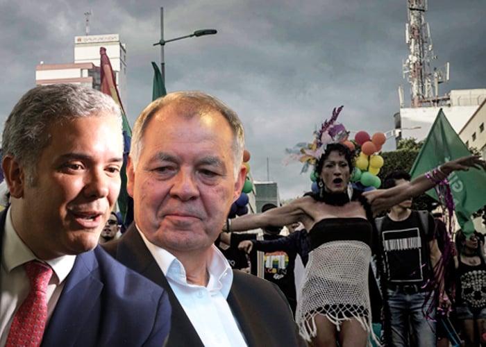 Desafío gay a Ordóñez y Duque en Bucaramanga