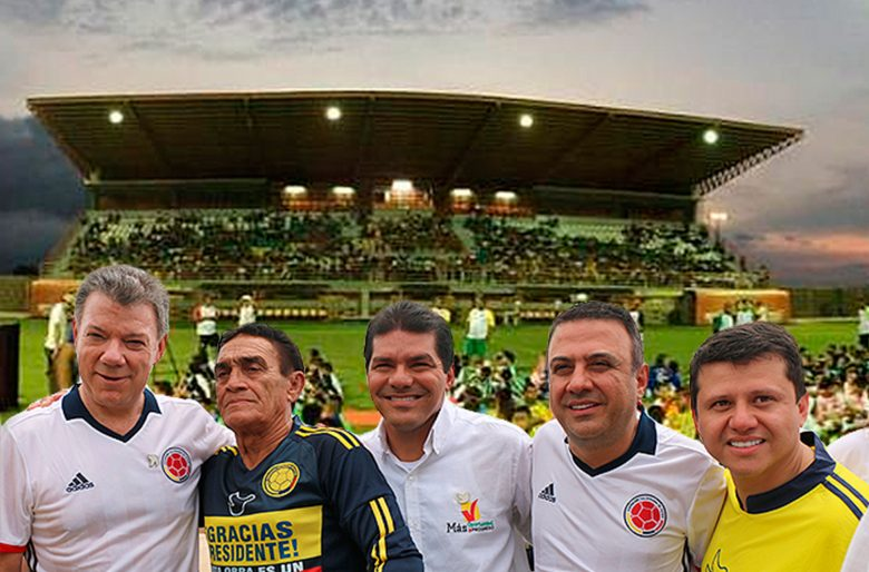 El estadio de fútbol que construyó el Ñoño Elías con la mermelada de Santos