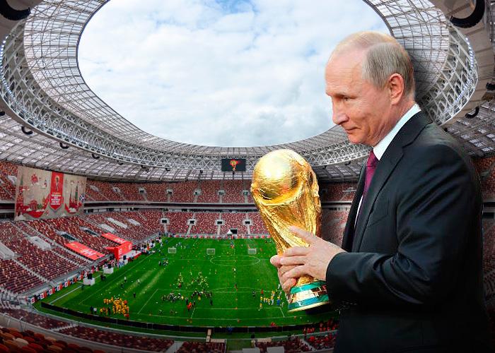 Cómo le arrebató Putin a Inglaterra la sede del Mundial