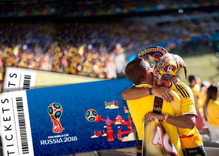 Hinchas colombianos rumbo a Rusia ¿quién los lleva?