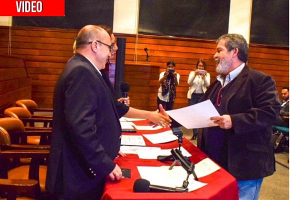 Congresistas Farc, graduados para hacer política: VIDEO
