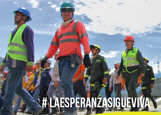 #LaEsperanzaSigueViva en Hidroituango
