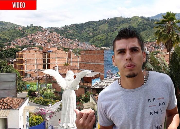 Un día en la Comuna 13 de Medellín