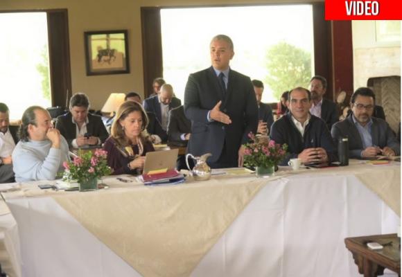 Video: Detalles de la primera reunión de Duque con su gabinete