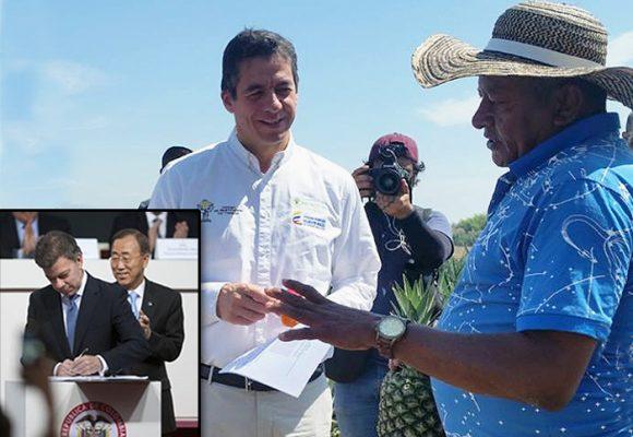 El fracaso de Ricardo Sabogal y Santos con la restitución de tierras