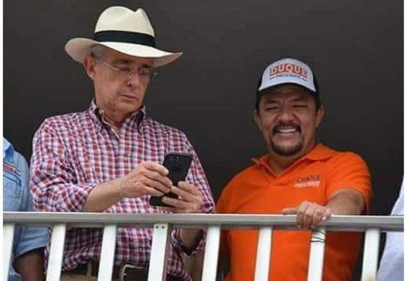La mala compañía de Uribe en San Carlos, Antioquia