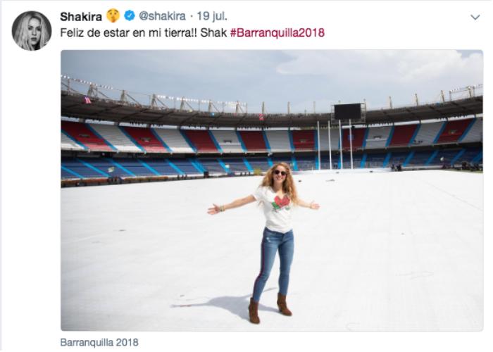 Las arepas asadas que engordaron a Shakira en Barranquilla