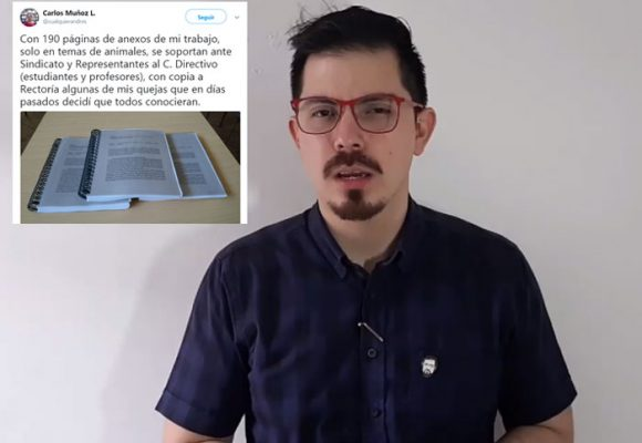 Video: profesor de la Universidad Libre en Cúcuta denuncia acoso laboral