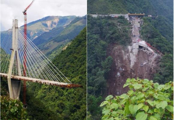 Las fallas de las obras de ingeniería colombiana
