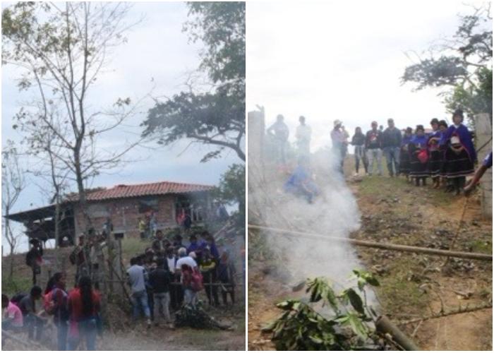 Enfrentamientos entre indígenas nasa y misak en Caldono