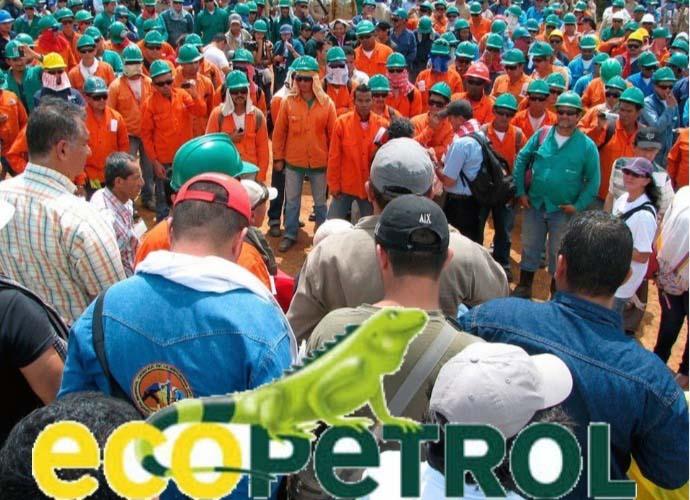 Una huelga para defender a Ecopetrol