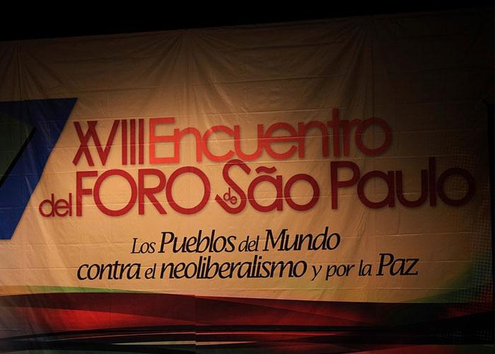 Pertenecer al Foro de Sao Paulo también es corrupción