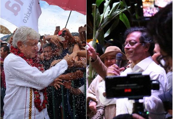 Lo que va de López Obrador a Gustavo Petro