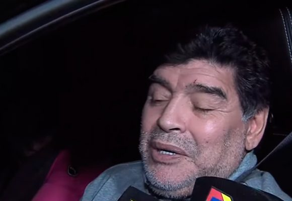 VIDEO: ¿Maradona sigue sumergido en la cocaína?