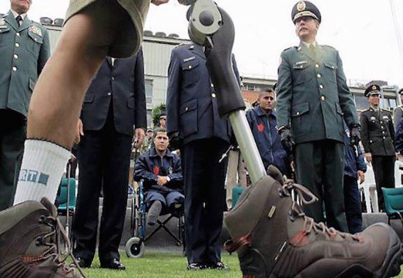 Víctimas de minas antipersonal y la paz