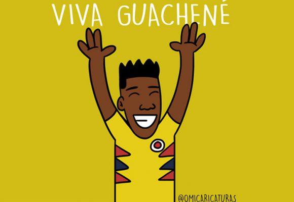 Caricatura: ¡Viva Guachené!