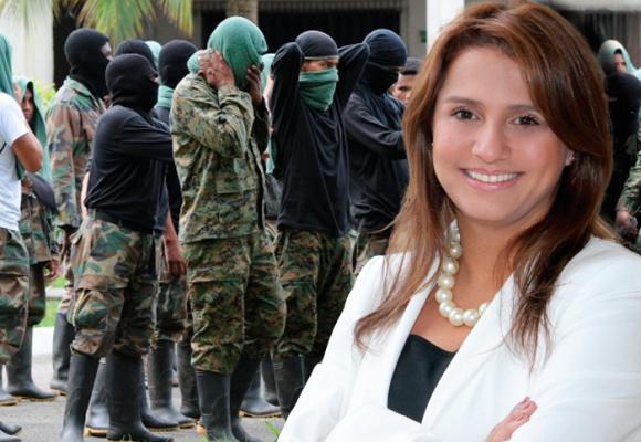 Paola Holguín, la senadora uribista detrás de la entrega de las Bacrim