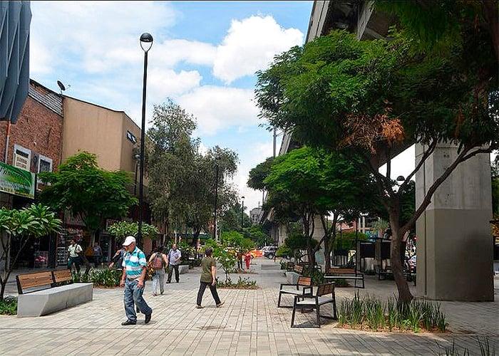 Un Paseo Bolívar para caminar